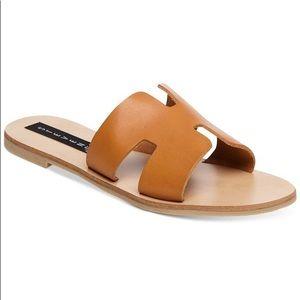 Steven Open Toe Slide Sandal